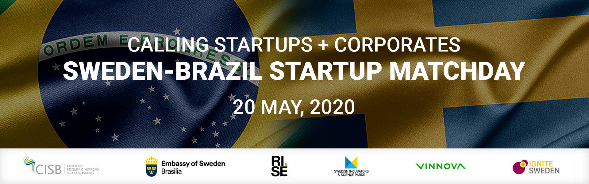 Sweden Brazil Startup Matchday 20 May 2020 2